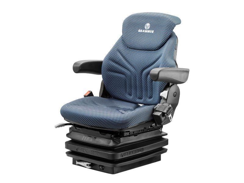 Heftruckstoel Maximo H M Stof Blauw/zwart + eindschakelaar met Gordel 1292206
