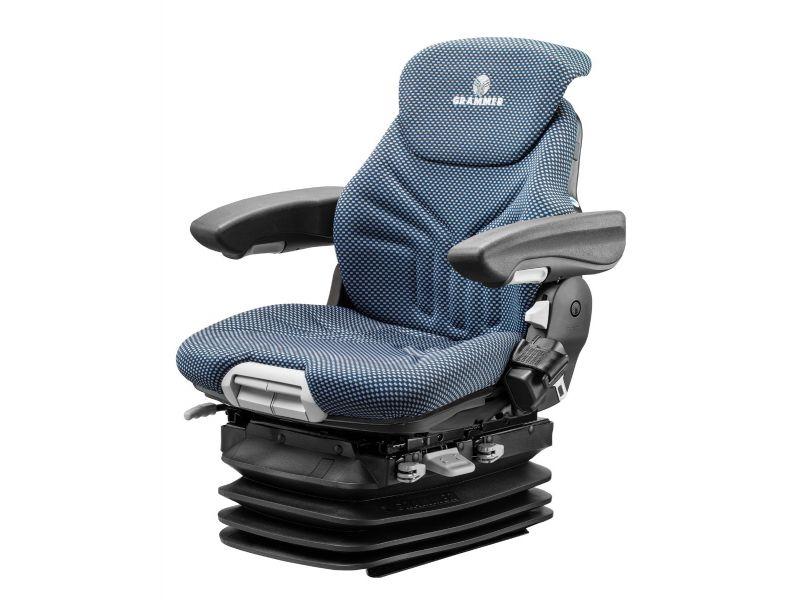 Heftruckstoel Maximo H XXL Stof blauw/zwart 12V 1292187