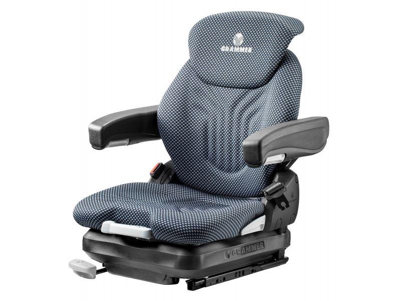 Heftruckstoel Primo XM stof blauw/zwart 1293487