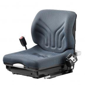 Heftruckstoel MSG 20 Stof Blauw/zwart + eindschakelaar 1293150