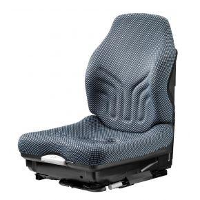 Heftruckstoel MSG 20 PVC smal Stof Blauw/zwart + eindschakelaar 1293152