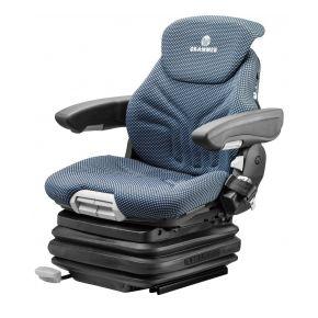 Heftruckstoel Primo EL Plus 12V stof blauw/zwart 1292328