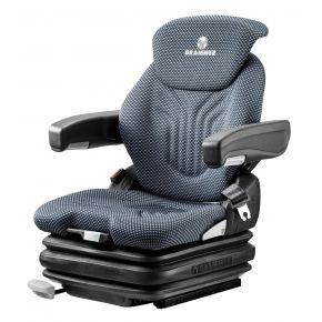 Heftruckstoel Primo XL 24V LF stof blauw/zwart 1293478