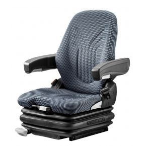 Heftruckstoel Primo XXL 12V LF stof blauw/zwart 1293476