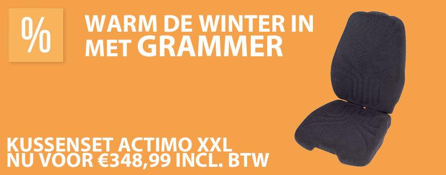 Warm de winter in Grammer kussenser verwarmd Actimo